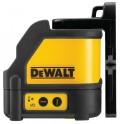Křížový laser, dosah s detektorem až 50 m, přesnost ± 0,3 mm/m, Dewalt, DW088K