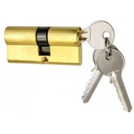 Stavební 5-stavítková vložka, EURO Zero, 30/35 MS, 3 Klíče, matná mosaz, Richter, EZ30/35MS
