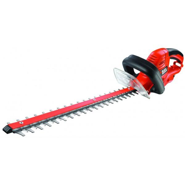Elektrické nůžky na živý plot, 600 W, délka lišty 600 mm, Black+Decker GT6060