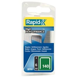 Spony RAPID, typ 140, 6 mm, 970 ks, R4/6