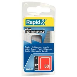 Spony RAPID, typ 3 / 53, 12 mm, 1080 ks, R3/12