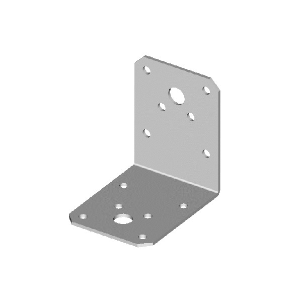 Úhelník, 55 x 70 x 70 mm, bez vlisu, UHBV70