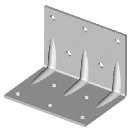 Konstrukční úhelník, 30 x 35/35 mm, UHK30/35