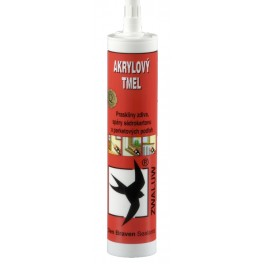 Akrylový tmel bílý, 310 ml, Den Braven, DB02595