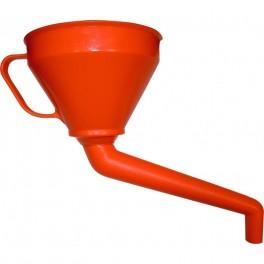 Kombitrychtýř se zahnutou výpustí, 160 mm, 1.2 l, Pressol, PR02562