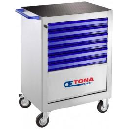 Montážní skříň, 7 zásuvková, 3 moduly na zásuvku, bez vybavení, Expert, E010130T