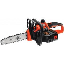 Aku řetězová pila, 18.0 V, 2.0 Ah, 250 mm, Black+Decker, GKC1825L20