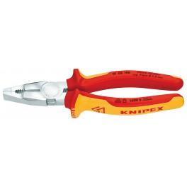 Kombinované kleště, 190 mm, elektrikářské, Knipex, 0106-190
