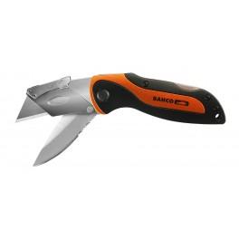 Kapesní nůž sklopný, 170 mm, se dvěmi čepelemi, Bahco, KBTU-01