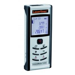 Laserový měřič vzdálenosti, 40 m, DistanceMaster Pocket, LaserLiner, LL26435