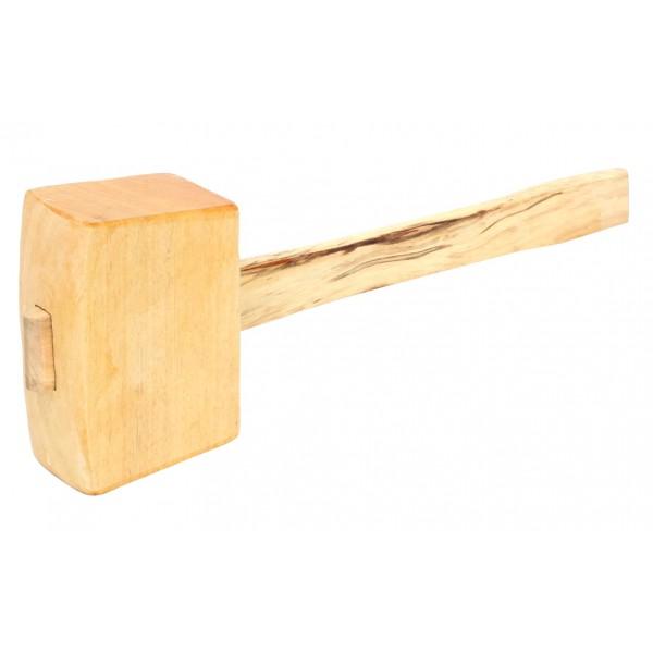 Dřevěná palice, 520 g, 80 x 60 mm, buk, Festa, F19200