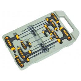 Sada nástrčných klíčů, 9-dílná, T-rukojeť, Imbus, Festa, F18494