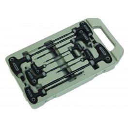 Sada nástrčných klíčů, 9-dílná, T-rukojeť, Torx, Festa, F18495