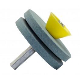 Brousek na nože a nůžky, průměr 50 mm, 16990, F16990