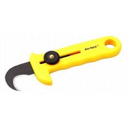 Nůž hákový, na koberce a podlahové krytiny, 16041, F16041