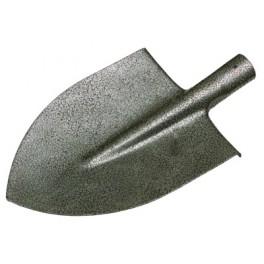Rýč špičatý, 22 x 30 cm, kladívkový lak, bez násady, F61004