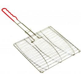 Grilovací mřížka na opékání 3 ks ryb, 280 x 276 mm, 43082, GOR3