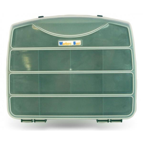 Kufr na drobný materiál, 250 x 210 x 40 mm, 12 přihrádek, 1080944
