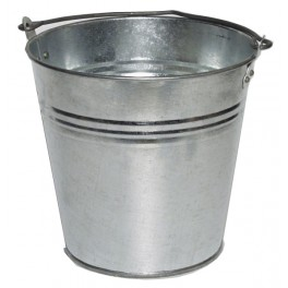 Vědro kovové, 10 l, pozinkované, Z5318