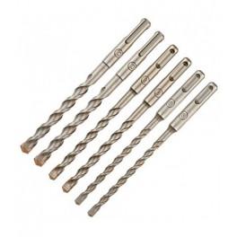 Sada příklepových vrtáků, 6-dílná, SDS-Plus, DeWalt, DT60302