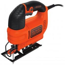 Elektrická přímočará pila, 520 W, prořez 70 mm, regulace, Black+Decker, KS701PEK