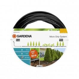 """Startovací sada pro rostliny v řádcích L, kapací hadice nadzemní, 13 mm - 1/2"""", 50 m, Micro-Drip-System, Gardena, G13013-20"""