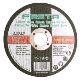 Řezný kotouč na kámen, 125x2.5 mm, Festa, RK125F
