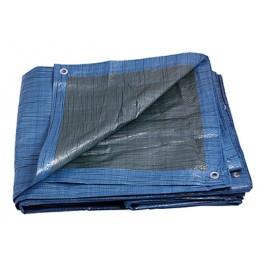Zakrývací plachta, 2x2 mm, Ekonomik, modro-zelená, F25369