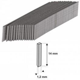 Hřebíky do ruční sponkovačky, tvar I, 10 x 1,2 mm, 1000 ks, Dedra, 11Z414