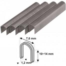 Sponky na kabely, 14 mm, 1000 ks, Dedra, 11Z514