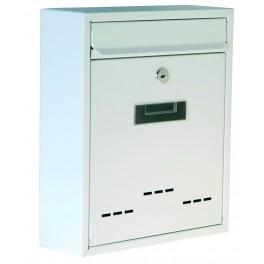 Poštovní schránka, bílá, 310 x 260 x 90 mm, P70102