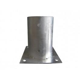 Patka sloupku, 80 x 150 mm, tloušťka plechu 2 mm, F55440