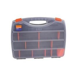 Kufr na drobný materiál, 480 x 380 x 80 mm, 26 přihrádek, 1080947