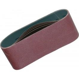 Brusný pás pro ruční pásové brusky, 76x457 mm, zrno 80, 5 ks, Makita, P-37116