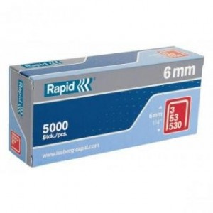 RAPID Spony  53/ 8, 5000 ks, R53/8-5