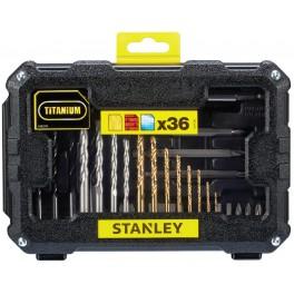 Sada vrtáků a bitů, 32-dílná, Stanley, STA7222