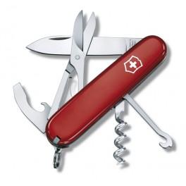 Kapesní nůž, Victorinox Compact, červený, 1.3405