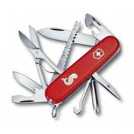 Kapesní nůž, Victorinox Fisherman, červený, 1.4733.72