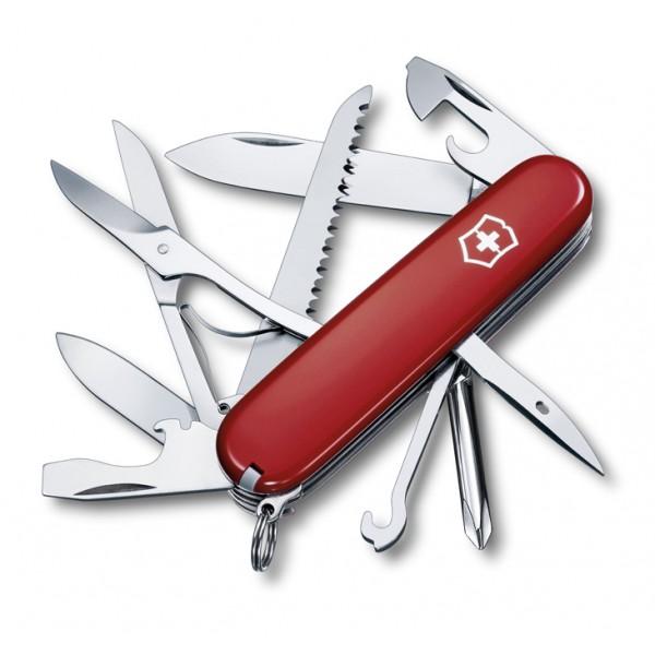 Kapesní nůž, Victorinox Fieldmaster, červený, 1.4713