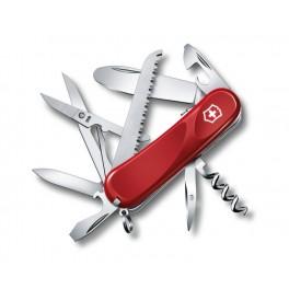 Kapesní nůž, Victorinox Junior 03, červený, 2.3913.SKE
