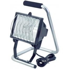 Přenosný halogenový reflektor, 500 W, se stojánkem, BATHAL