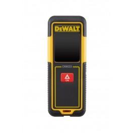 Laserový dálkoměr, do 30 m, DeWALT, DW033