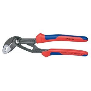 Stavitelné kleště Cobra®, instalatérské, 180 mm, Knipex, 8702-180