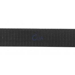 Popruh 40 mm, brašnářský, antracitový, metráž, Clia, POP40BR-CER