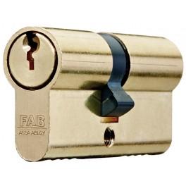 Cylindrická vložka 100RS, 29 + 35 mm, 3 klíče, FAB, FAB100RSD/29+35