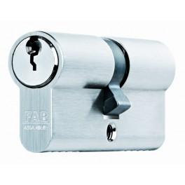 Bezpečnostní cylindrická vložka 200 RSDNm, 29 + 35 mm, 5 klíčů, nikl, FAB, FAB200RSDN29+35