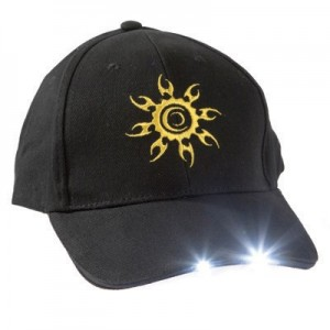 Čepice s LED světlem, M360.094