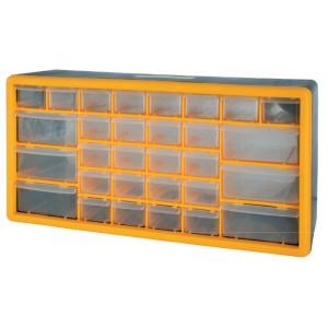 PVC organizér, 30 zásuvek, 500 x 160 x 250 mm, 239233