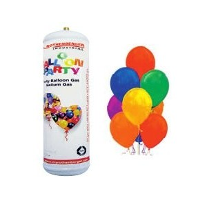 Party set 2l helium + 25 balónků, ROT035206E