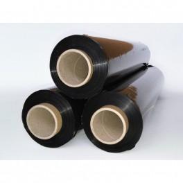 Strečová folie, šířka 500 mm, 270 m, 2,8 kg, černá, FOLIE50/20C